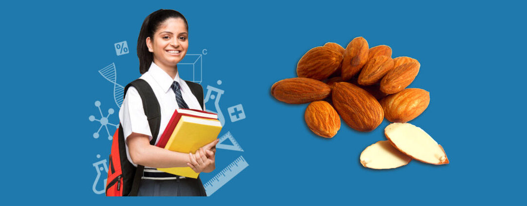 How is Eating Soaked Almonds Beneficial for Students